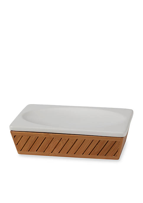 Creative Bath Spa Bamboo Soap Dish