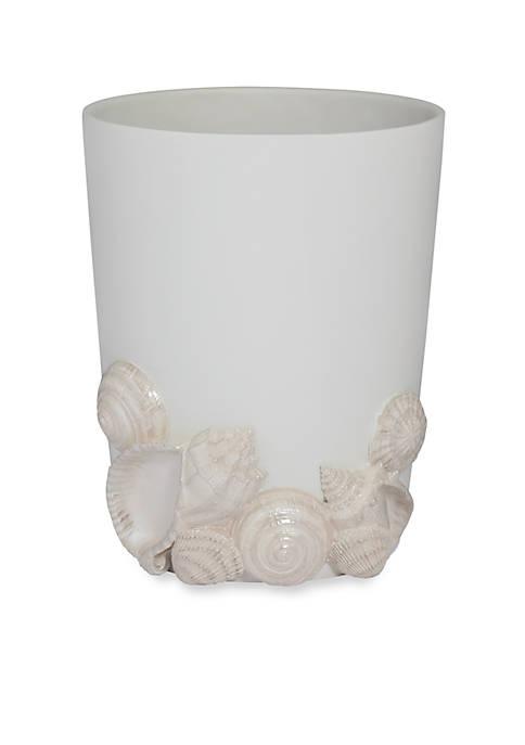 Creative Bath Seaside Wastebasket 9.75-in. x 9.75-in. x