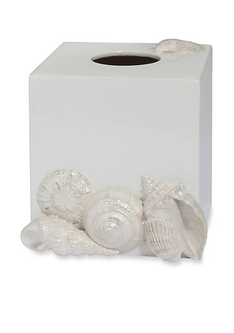Creative Bath Seaside Tissue Box 8.25-in. x 8.25-in.