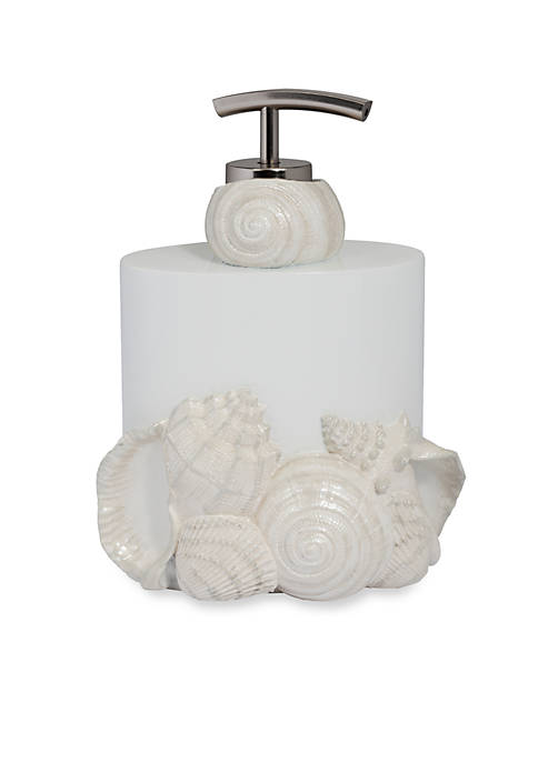 Creative Bath Seaside Lotion Dispenser 5.8-in. x 4.75-in.