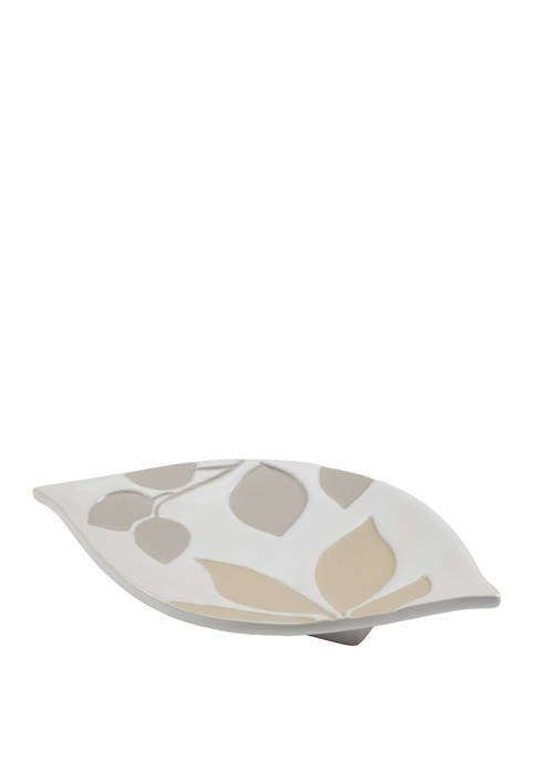 Shadow Leaves Soap Dish