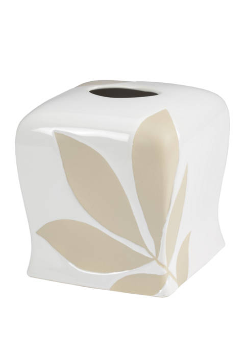 Shadow Leaves Boutique Tissue Holder