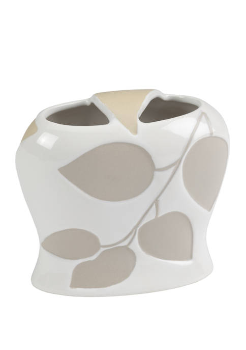 Shadow Leaves Toothbrush Holder