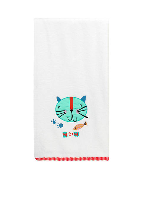 Creative Bath Kitty Decorative Bath Towel