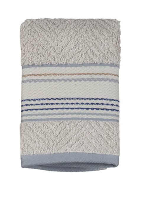 Ticking Stripe Wash Towel