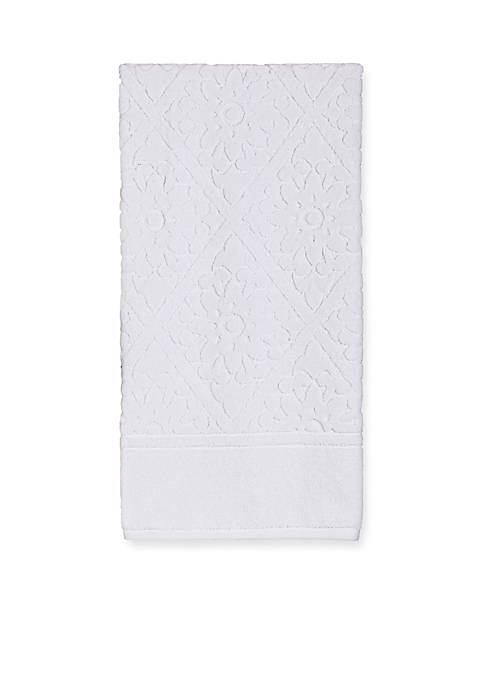 Creative Bath Belle White Bath Towel 27-in. x