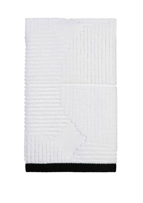Metro Circle Fingertip Towel