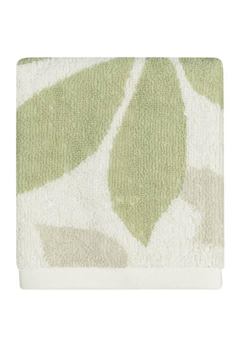 Shadow Leaves Wash Cloth