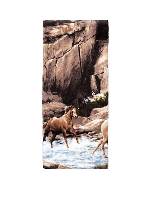 Horse Canyon By Hautman Brothers Hand Towel