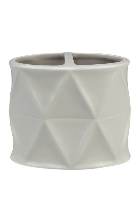 Triangles Toothbrush Holder