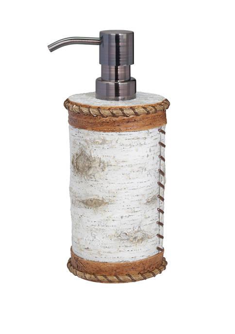 White Birch  Lotion Pump