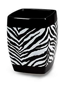 Zebra Wastebasket