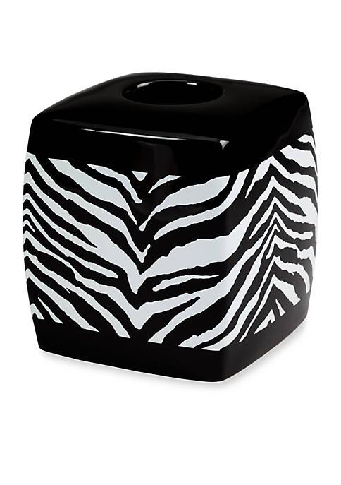Creative Bath Zebra Tissue Box