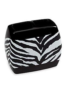 Zebra Toothbrush Holder