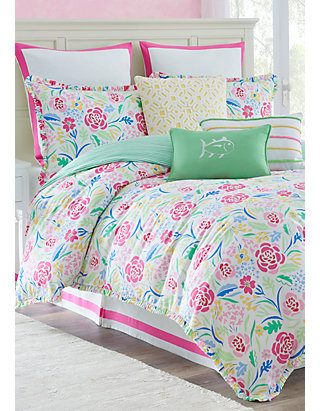 Southern Tide Kiawah Fl Bedding, Southern Tide Bedding Queen