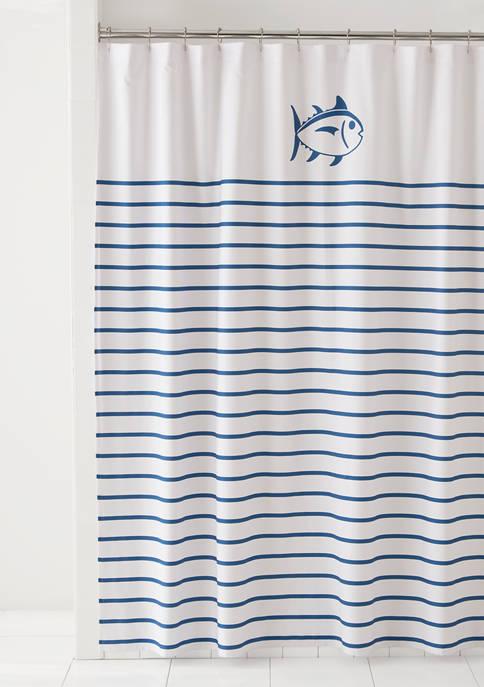 Breton Shower Curtain