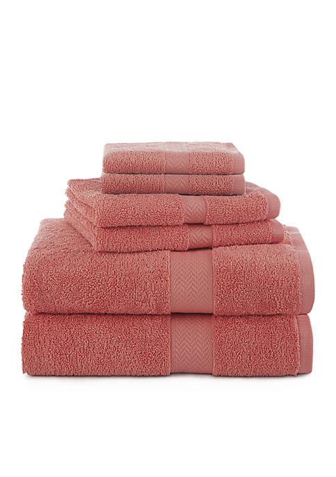 Ringspun 6-Piece Towel Set