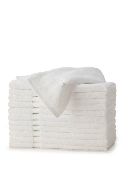 Martex Commercial 12-Piece Hand Towel Set