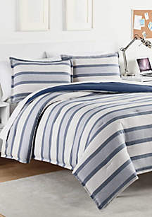 Kenton Vintage Indigo Comforter Set