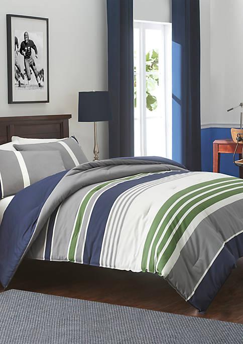 IZOD Liam Mood Indigo Comforter Set