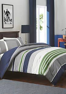 Liam Mood Indigo Comforter Set