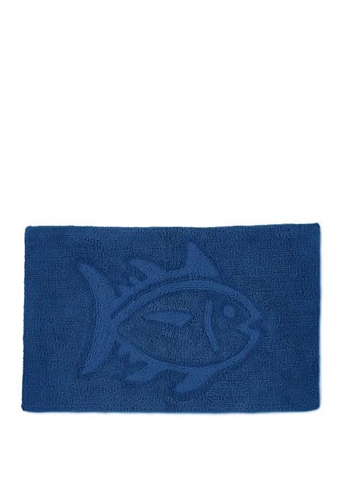 Reversible Skipjack Bath Rug Collection