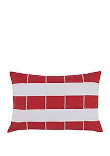 Southern Tide® Sullivan Top Stitch Decorative Pillow