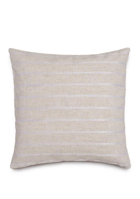 Camana Bay Satin Stitch Throw Pillow