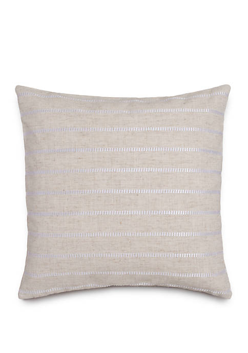 Southern Tide® Camana Bay Satin Stitch Throw Pillow