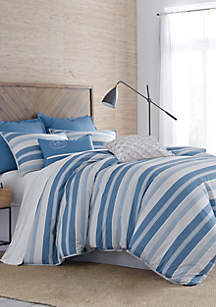 Skipper Stripe Comforter Set
