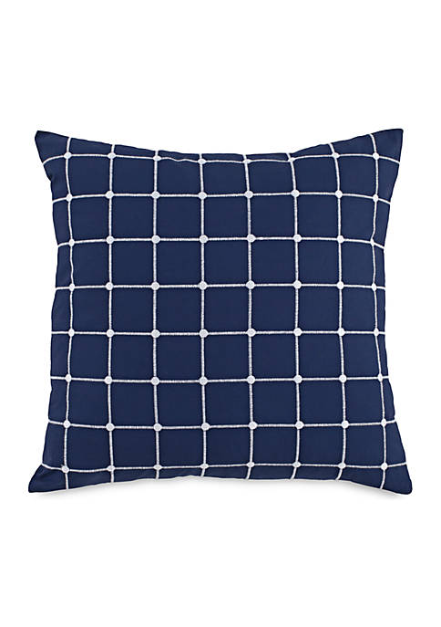 Southern Tide® Royal Pine Geo Throw Pillow