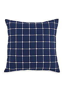 Royal Pine Geo Throw Pillow