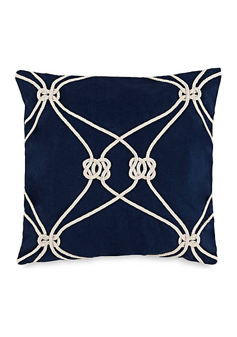 Southern Tide® Royal Pine Rope Knot Throw Pillow