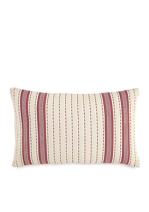 Alcott Pass Quilted Stripe Throw Pillow