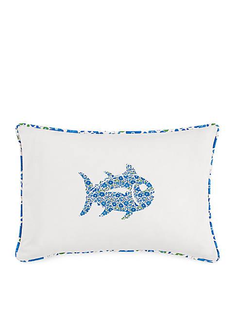Southern Tide® Laurel Falls Skipjack Decorative Pillow