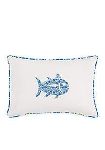 Laurel Falls Skipjack Decorative Pillow