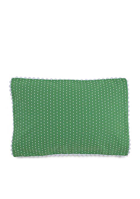 Southern Tide® Laurel Falls Green Swiss Dot Decorative