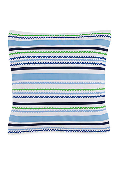 Southern Tide® Laurel Falls Square Ric Rac Decorative