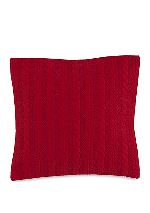 Windward Quilted Throw Pillow