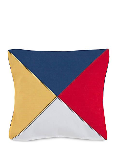 Windward Tri-Color Throw Pillow