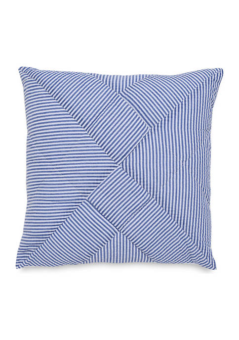 Southern Tide® Dover Beach Quilted Seersucker Decorative Pillow