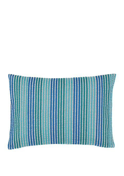 12 in x 18 in Stowaway Chain Stitch Throw Pillow