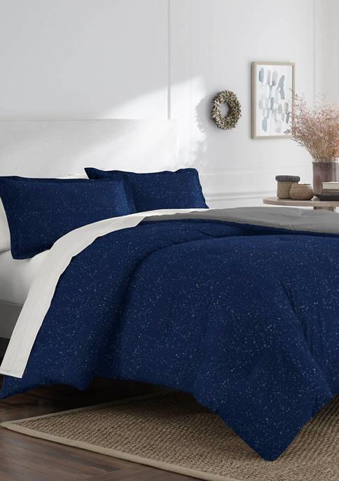 Martex Mason Marled Jersey Comforter Set