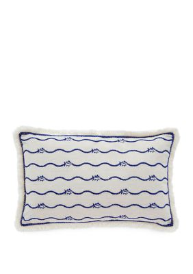 Southern Tide Camana Bay Raffia Throw Pillow Accuweather Shop