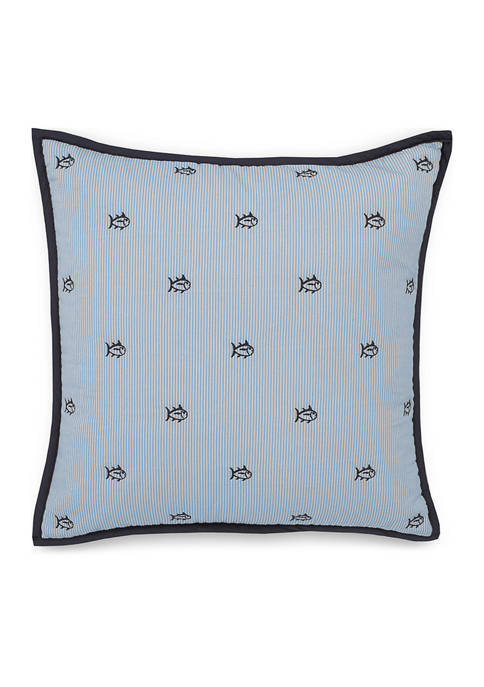 Harbor Town Quilted Skipjack Pillow