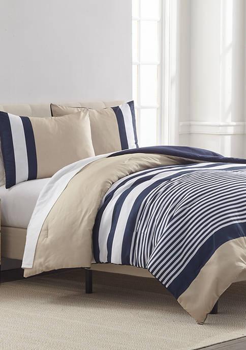 IZOD Wilder Striped Comforter Set