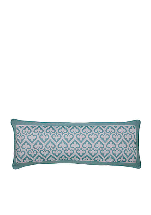 Newport Gate Slate Decorative Pillow 14-in. x 36-in.