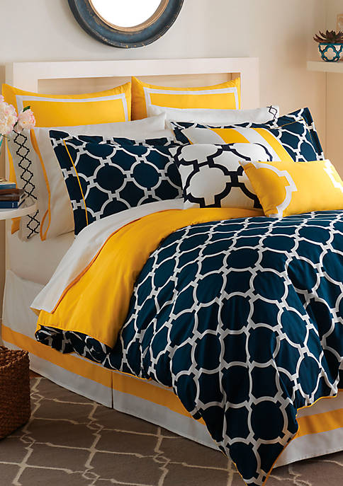 Jill Rosenwald Hampton Links Twin Comforter Set 68-in.