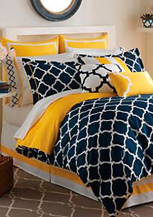 Hampton Links Twin Comforter Set 68-in. x 90-in.