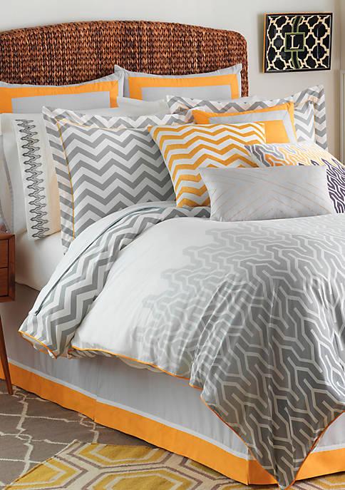 Jill Rosenwald Plimpton Flame Comforter Set